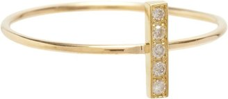 Jennifer Meyer Women's Bar Ring-Colorless
