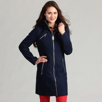Miss Sixty Women's Wool Hooded Coat $39.99 thestylecure.com