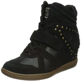 Skechers Women's Plus 3-Sputnik Fashion Sneaker