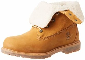 Timberland Women's Teddy Fleece Fold Down WP Boot