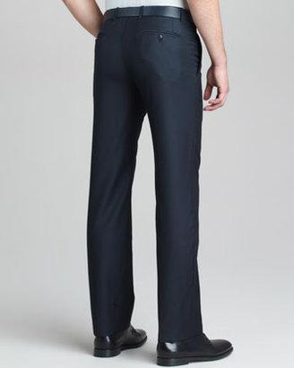 Giorgio Armani Modern-Fit Wool-Cashmere Trousers