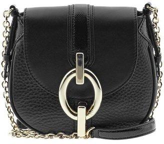 Diane von Furstenberg Sutra Mini Mixed Leather Handbag