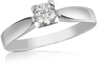 Forzieri 0.23 ctw Diamond Solitaire Ring