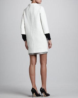 Kate Spade Susannah Three-Quarter-Sleeve Coat