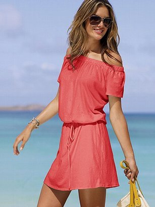 Victoria's Secret Off-the-shoulder Tee Dress