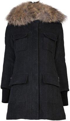 Sam. Campus wool coat