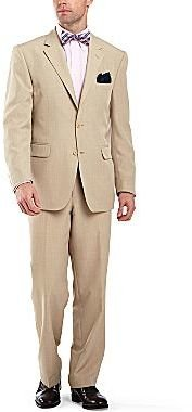 JCPenney Stafford® Khaki Linen-Look Suit Separates