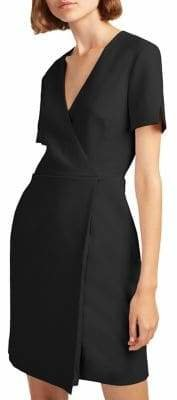 French Connection Short-Sleeve Wrap Dress