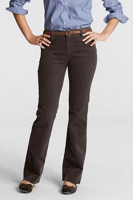 Lands' End Women's Tall Pre-hemmed Original 14-wale Corduroy Boot-cut Pants