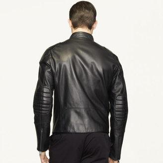 Ralph Lauren Black Label Lambskin Biker Jacket