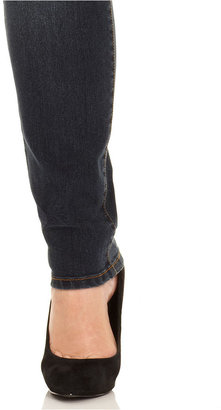 Style&Co. s&co. Plus Size Jeans, Curvy Skinny, Orion Wash