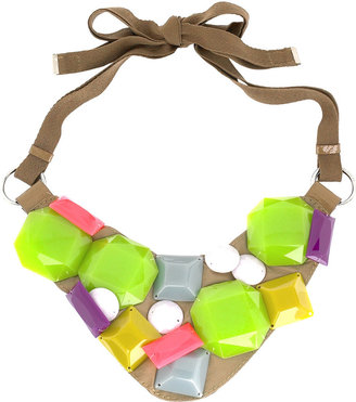 By Malene Birger Multicolored bead necklace