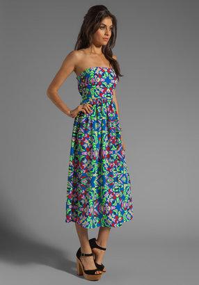 Mara Hoffman Printed Strapless Sun Dress