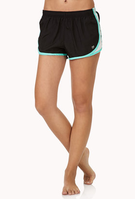 Forever 21 Contrast Trim Run Shorts