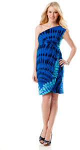 A Pea in the Pod Donna Morgan Sleeveless Empire Seam Maternity Dress