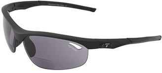 Tifosi Optics Velocetm Reader (Matte Black/Smoke Reader/+2.0) Athletic Performance Sport Sunglasses