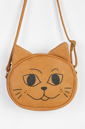 Urban Outfitters Cooperative Happy/Sad Kitty Crossbody Bag