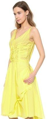 Nina Ricci Pleated Tank Dress