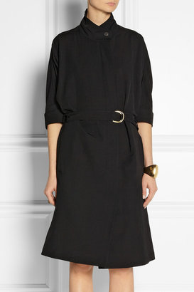 Calvin Klein Collection Gabardine trench coat