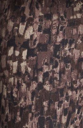 Hue 'Abstract Geo' Print Denim Leggings (Online Only)