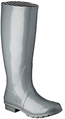 Women's Classic Knee High Rain Boot - Gray