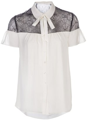 ALICE by Temperley lace inset blouse