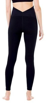 Ingrid & Isabel BeMaternity® by Yoga Black Leggings with Crossover Panel