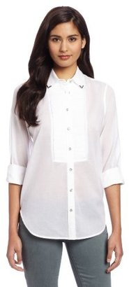 Vince Camuto Two by Women's Tuxedo Western Shirt