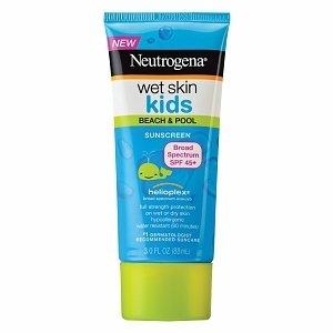 Neutrogena Wet Skin Kids Sunscreen Lotion, SPF 45+