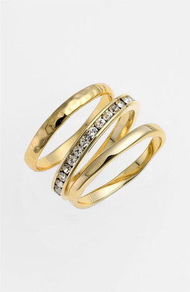 Ariella Collection Stackable Rings (Set of 3) (Nordstrom Exclusive)