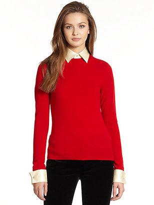 Ralph Lauren Blue Label Convertible Cashmere Sweater