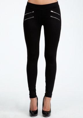 Bebe Zipper Legging