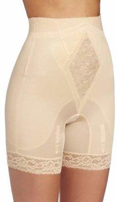 Rago Women's Plus-Size Hi Waist Long Leg Shaper
