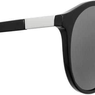 The Row Round-frame acetate sunglasses