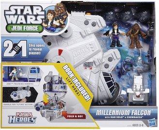 Star Wars Hasbro Millenium Falcon w/ Han Solo & Chewbacca