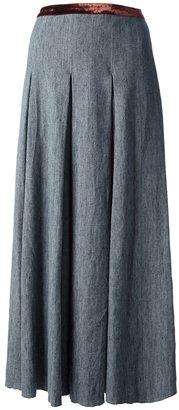 Forte Forte pleated midi skirt