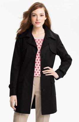 Kristen Blake Single Breasted Trench Coat (Regular & Petite)