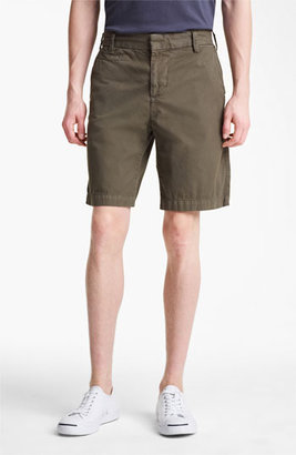 Save Khaki Slim Bermuda Shorts Olive 31