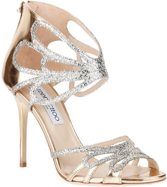 Jimmy Choo Melody glitter sandal