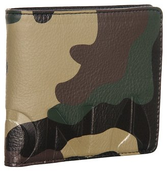 Nixon Photo Album Bi-Fold Coin Wallet (Woodland Camo) - Bags and Luggage