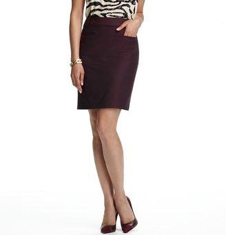 LOFT Tall Front Pocket Pencil Skirt in SuperFine
