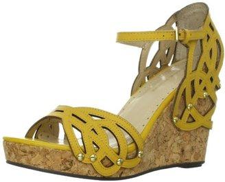 Adrienne Vittadini Footwear Women's Clemintine-1 Wedge Sandal
