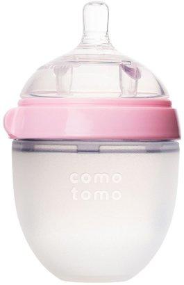 Comotomo Natural-Feel Silicone Baby Bottle - Pink - 5 oz