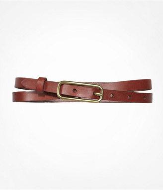 Express Leather Skinny Belt