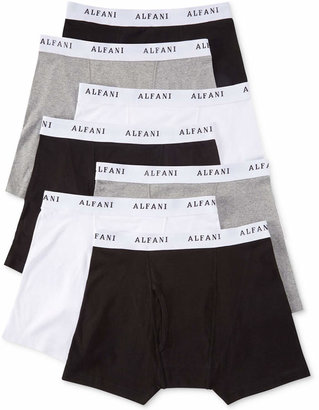Alfani Men's Cotton Tagless Boxer Briefs 7-Pack $40 thestylecure.com