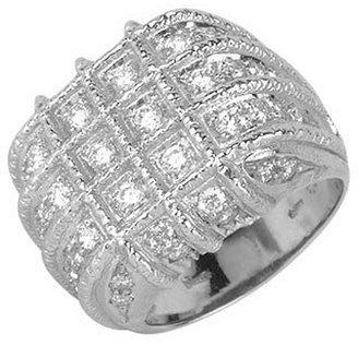 Torrini Wallstreet - 18K White Gold Diamond Ring