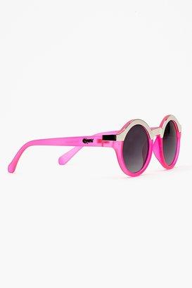 Nasty Gal Shine Up Shades - Neon Pink
