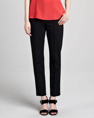 Tibi Ponte Center-Seam Pants