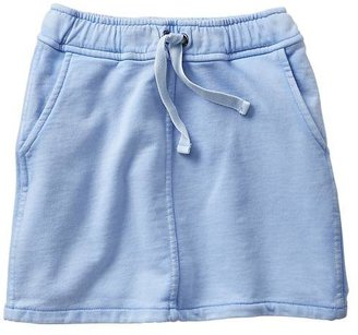 Gap Sunwashed sweatshirt skirt