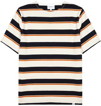 Norse Projects Godtfred Striped Cotton T-shirt
